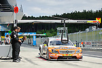 02.06.2011, Red Bull Ring, Spielberg, AUT, DTM Red Bull Ring, im Bild Ralf Schumacher, (GER, Salzgitter AMG Mercedes) // during the DTM training day on the Red Bull Circuit in Spielberg, 2011/06/02, Foto © nph /  S. Zangrando *** Local Caption ***