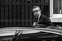 Lord Chancellor and Secretary of State for Justice Michael Gove MP (Photo from the Archive)...<br />