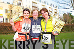 Hazel Wharton, Bernie Cadogan and Gretta Quirke at the Valentines 10 mile road race in Tralee on Saturday.