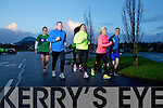 Runners preparing for the Kerry's Eye International Marathon.
