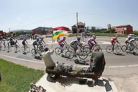 The group during the stage of La Vuelta 2012 between Logroño and Logroño.August 22,2012. (ALTERPHOTOS/Paola Otero) /NortePhoto.com<br /> <br /> **SOLO*VENTA*EN*MEXICO**<br /> **CREDITO*OBLIGATORIO**<br /> *No*Venta*A*Terceros*<br /> *No*Sale*So*third*<br /> *** No Se Permite Hacer Archivo**<br /> *No*Sale*So*third*