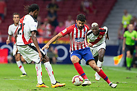 Diego Costa of Atletico Madrid during the match between Real Madrid v Rayo Vallecano of LaLiga, 2018-2019 season, date 2. Wanda Metropolitano Stadium. Madrid, Spain - 25 August 2018. Mandatory credit: Ana Marcos / PRESSINPHOTO