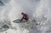 BELLS BEACH, Torquay, Victoria, Australia  (Saturday, March 31, 2018) Adriano de Souza (BRA) - The Rip Curl Pro Bells Beach, Stop No. 2 on the World Surf League (WSL) Championship Tour (CT),  started first thing this morning with the remaining four heats of men&rsquo;s Round 1 and men&rsquo;s Round 2. Women&rsquo;s Round 2 followed with late finish after 7pm. With five-to-eight foot (1.5 - 2.4 metre) waves on offer at Bells Beach, the competition will see a big day of action as the elite field battles to ring the coveted and iconic Bell. <br /> <br /> &ldquo;As predicted, wave heights have increased and conditions are clean, so we have moved back to our primary location of Bells Beach for our second day of competition,&rdquo; said WSL Commissioner. &ldquo;We are going to complete the remaining four heats of men&rsquo;s Round 1 and continue into men&rsquo;s Round 2...  It is going to be a big day of competition here at Bells.&rdquo;<br /> Photo: joliphotos.com