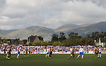 With the ball thumped way above a mountain range the Ochils witness awful football as Rangers take on Alloa