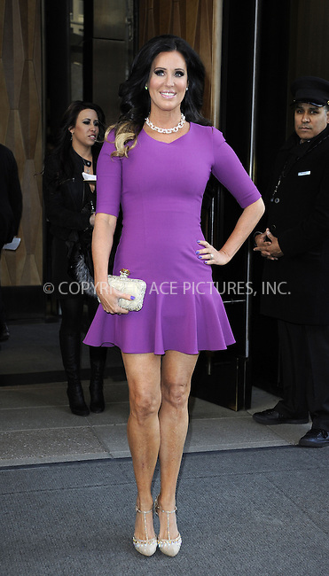 WWW.ACEPIXS.COM....April 3 2013, New York City....TV personality Patty Stranger leaves a Soho hotel on April 3 2013 in New York City......By Line: Curtis Means/ACE Pictures......ACE Pictures, Inc...tel: 646 769 0430..Email: info@acepixs.com..www.acepixs.com