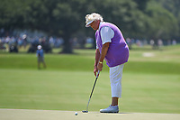 Laura Davies (ENG) watches her putt on 4 during round 1 of the 2019 US Women's Open, Charleston Country Club, Charleston, South Carolina,  USA. 5/30/2019.<br /> Picture: Golffile | Ken Murray<br /> <br /> All photo usage must carry mandatory copyright credit (© Golffile | Ken Murray)