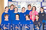 Pupils from St Bridgid's Killarney who presented their project to Bishop Bill Murphy at the Kerry Diocean School project in the Dromhall Hotel Killarney on Thursday front row l-r: Susan Nagle, Jessica Murphy, Orla O'Sullivan, Noeleen O'Mahony. Back row: Tracey Kelly, Mellissa Fitzgerald, Niamh Collins, Sarah O'Sullivan, Mairead Cashman, Mairead McElligott and Shinann O'Sullivan    Copyright Kerry's Eye 2008
