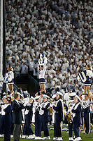during the 1st quarter of the NCAA Division I football game at Beaver Stadium in University Park, PA on October 25, 2014. (Columbus Dispatch photo by Jonathan Quilter)
