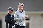28 October 2016: Texas Tech University head coach JoJo Robertson. The First Round of the 2016 Landfall Tradition NCAA Women's Golf Championship hosted by the University of North Carolina Wilmington Seahawks was held at the Pete Dye Course at the Country Club of Landfall in Wilmington, North Carolina.