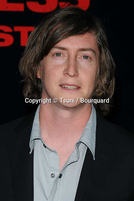 the director David Gordon Green    - <br /> Pineapple Express Premiere at the Westwood Village Theatre In Los Angeles.<br /> <br /> headshot<br /> eye contact