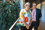 Strasbourg - France - 04 July 2019 -- MEP Heidi HAUTALA and MEP Ville NIINISTÖ,  Group of the Greens/European Free Alliance (Vihreä liitto - Fin.) -- PHOTO: Juha ROININEN / EUP-IMAGES