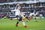 Matej Vydra of Derby County and Ryan Tuncliffe of Millwall during the championship league match between Derby and Millwall at Pride Park Stadium, Derby. Picture date 23rd December 2017. Picture credit should read: Joe Perch/Sportimage