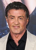 HOLLYWOOD, LOS ANGELES, CA, USA - AUGUST 11: Sylvester Stallone at the Los Angeles Premiere Of Lionsgate Films' 'The Expendables 3' held at the TCL Chinese Theatre on August 11, 2014 in Hollywood, Los Angeles, California, United States. (Photo by Xavier Collin/Celebrity Monitor)