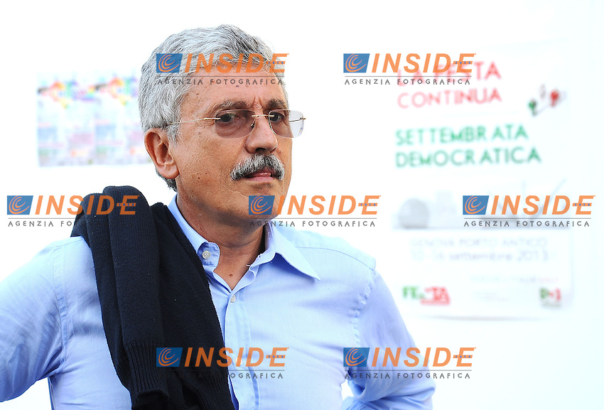 Massimo D'Alema <br /> Genova 07-09-2013 Festa Nazionale Partito Democratico <br /> Democratic Party National Meeting <br /> Photo  Genova Foto /Insidefoto