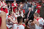 March 3, 2010: Wisconsin Badgers head coach Bo Ryan talks to his team during a Big Ten Conference NCAA basketball game against the Iowa Hawkeyes at the Kohl Center on March 3, 2010 in Madison, Wisconsin. The Badgers won 67-40. (Photo by David Stluka)