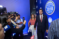 SÃO PAULO, SP - 30.09.2018 - ELEIÇÕES-2018 - Fernando Haddad, candidato à Presidência da República pelo PT, durante debate da Rede Record, realizado na sede da emissora no bairro da Barra Funda em São Paulo, na noite deste domingo, 30.(Foto: Levi Bianco/Brazil Photo Press)