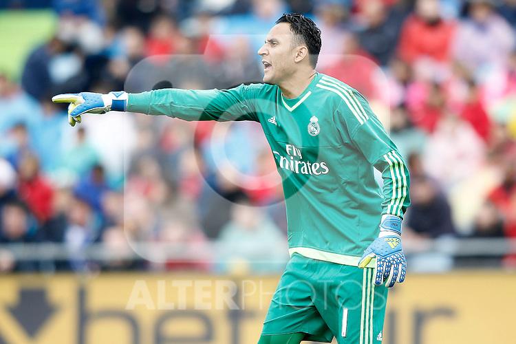 Real Madrid's Keylor Navas during La Liga match. April 16,2016. (ALTERPHOTOS/Acero)