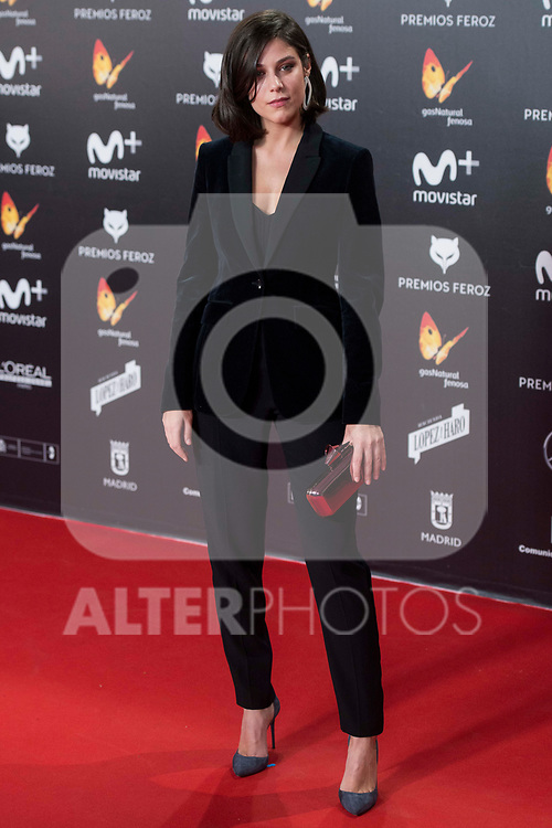 Iria del Rio attends red carpet of Feroz Awards 2018 at Magarinos Complex in Madrid, Spain. January 22, 2018. (ALTERPHOTOS/Borja B.Hojas)