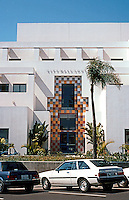 Charles Moore: Oceanside City Hall, South. Third St. side. (Photo '91)