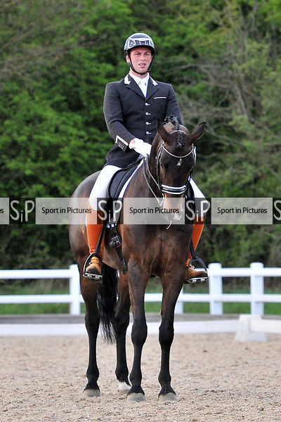 Class 10. Advanced Medium 98. British dressage (BD). Brook Farm Training Centre. Essex. 16/04/2017. MANDATORY Credit Ellen Szalai/Sportinpictures - NO UNAUTHORISED USE - 07837 394578