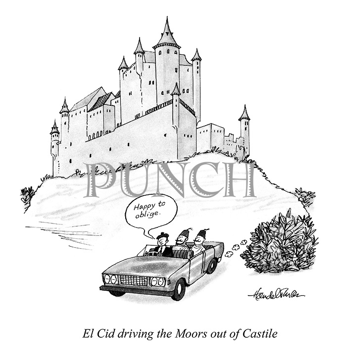 El Cid driving the Moors out of Castile