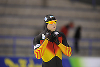 SCHAATSEN: CALGARY: Olympic Oval, 08-11-2013, Essent ISU World Cup, 500m, Nico Ihle  (GER), ©foto Martin de Jong