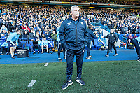 Sheffield Wednesday manager Steve Bruce stands on the touch line during the Sky Bet Championship match between Sheffield Wednesday and Swansea City at Hillsborough Stadium, Sheffield, England, UK. Saturday 23 February 2019