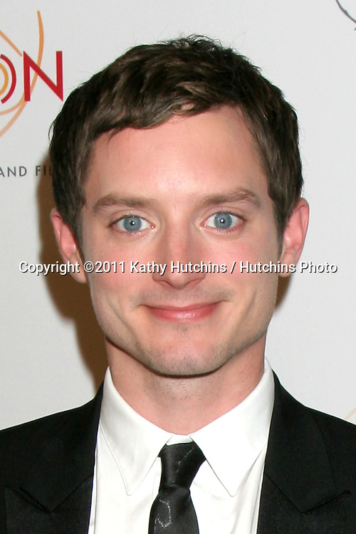 LOS ANGELES - APR 9:  Elijah Wood arriving at the 32nd Annual College Television Awards at Renaissance Hotel Hollywood  on April 9, 2011 in Los Angeles, CA