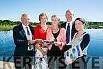 Launching  of the Kerry Economic and Community Plan 2012 - 2022 at the Wetlands Centre on Monday. Pictured l-r , Director Of Services, Michael Scannell  Lisa Fanning, KCC, Noreen O'Mahony, KCC, Kevin Burns, KCC, Siobhan Griffin, KCC, and Stuart Alcock, Applied Business Support
