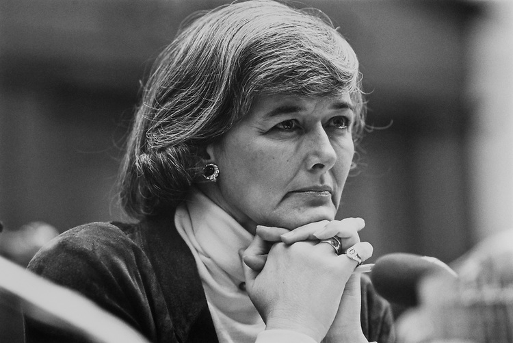 Rep. Patricia Schroeder, D-Colo., in February 1993. (Photo by Laura Patterson/CQ Roll Call)