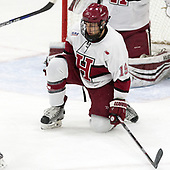 Jake Horton (Harvard - 19) - The Harvard University Crimson tied the visiting Yale University Bulldogs 1-1 on Saturday, January 21, 2017, at the Bright-Landry Hockey Center in Boston, Massachusetts.