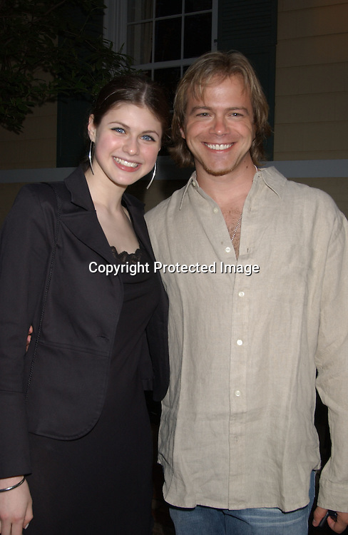 Alexandra Daddario & Brian Gaskill                               ..at Gracie Mansion for the Daytime Emmys party on May 15,2003 in NYC...Photo by Robin Platzer, Twin Images