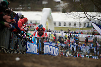 James Driscoll (USA)<br /> <br /> Elite Men's race<br /> <br /> 2015 UCI World Championships Cyclocross <br /> Tabor, Czech Republic