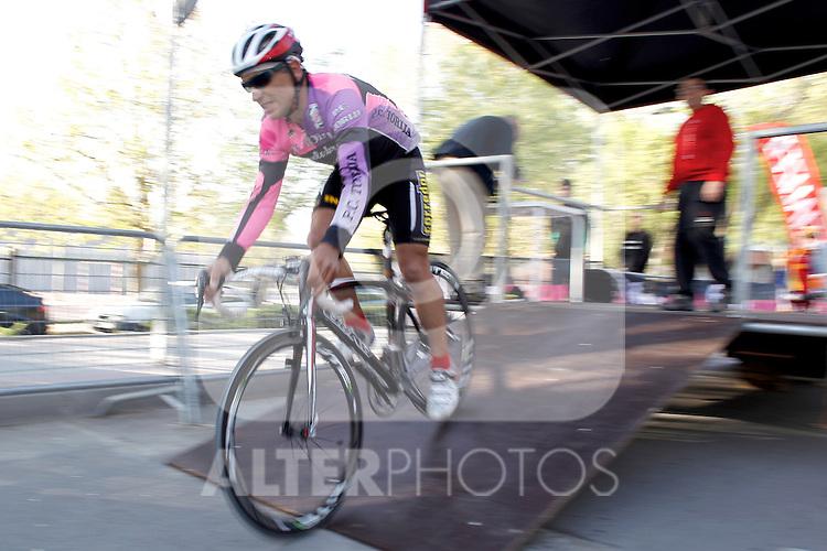 Conrtra reloj invididual master cri 173 Angel Torija Bicicletas Gil . (ALTERPHOTOS/Alvaro Hernandez)