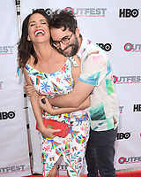 "LOS ANGELES - July 15:  Amy Landecker, Jay Duplass at the ""Transparent"" Season 4 Sneak Peek at Outfest LGBT Film Festival at the Directors Guild of America Theater on July 15, 2017 in Los Angeles, CA"