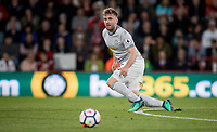 Luke Shaw of Man Utd during the Premier League match between Bournemouth and Manchester United at the Goldsands Stadium, Bournemouth, England on 18 April 2018. Photo by Andy Rowland.