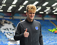 Cameron McGeehan of Portsmouth  during Portsmouth vs AFC Wimbledon, Sky Bet EFL League 1 Football at Fratton Park on 11th January 2020