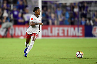 Orlando, FL - Saturday July 07, 2018: Taylor Smith during the second half of a regular season National Women's Soccer League (NWSL) match between the Orlando Pride and the Washington Spirit at Orlando City Stadium. Orlando defeated Washington 2-1.