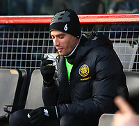 1st December 2019; Global Energy Stadium, Dingwall, Highland, Scotland; Scottish Premiership Football, Ross County versus Celtic; Nir Bitton of Celtic feels the cold - Editorial Use