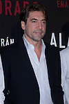 04.05.2012. Presentation at the Hotel Me Madrid in the film ´Alacrán Enamorado´ directed by Santiago A. Zannou produced by Alvaro Longoria and with actors Carlos Bardem, Javier Bardem, Miguel Angel Silvestre, Alex Gonzalez and Judith Diakhate. In the image Javier Bardem  (Alterphotos/Marta Gonzalez)