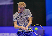 Rotterdam, Netherlands, December 13, 2017, Topsportcentrum, Ned. Loterij NK Tennis, Botic van de Zandschulp (NED)<br /> Photo: Tennisimages/Henk Koster
