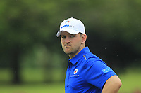 Bernd Wiesberger (Europe) on the 17th during the Friday Foursomes of the Eurasia Cup at Glenmarie Golf and Country Club on the 12th January 2018.<br /> Picture:  Thos Caffrey / www.golffile.ie