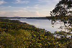 View of the Rio Parana from Parque Teyu-Cuare in San Ignacio, Misiones, Argentina.