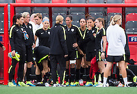 USWNT Training, June 25, 2015
