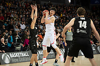 China&rsquo;s Zhelin Wang in action during the FIBA World Cup Basketball Qualifier - NZ Tall Blacks v China at Spark Arena, Auckland, New Zealand on Sunday 1 July 2018.<br /> Photo by Masanori Udagawa. <br /> www.photowellington.photoshelter.com