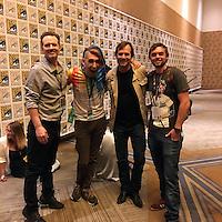 "Michael Biehn, Max Landis, Bill Paxton, Caelan Biehn<br /> at the ""Aliens"" 30th Anniversary Reunion at San Diego Comic-Con, San Diego, CA 07-23-16<br /> David Edwards/Dailyceleb.com 818-249-4998"