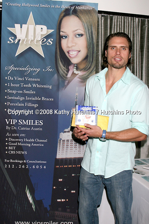 Joshua Morrow.VIP Smiles.GBK Gifting Suite.Thompson Hotel.Beverly Hills, CA.January 10, 2008.©2008 Kathy Hutchins / Hutchins Photo...            .