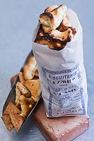 Europe/France/Midi-Pyrénées/81/Tarn/ Carmaux: Biscuits traditionnels:jeannots et échaudés à la Biscuiterie Deymier