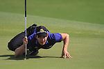 Dubai World Championship Golf. Earth Course,.Jumeirah Golf Estate, Dubai, U.A.E...Camilo Villegas on the green on the 3rd during the third round of the Dubai World Golf championship..Photo: Fran Caffrey/www.golffile.ie...