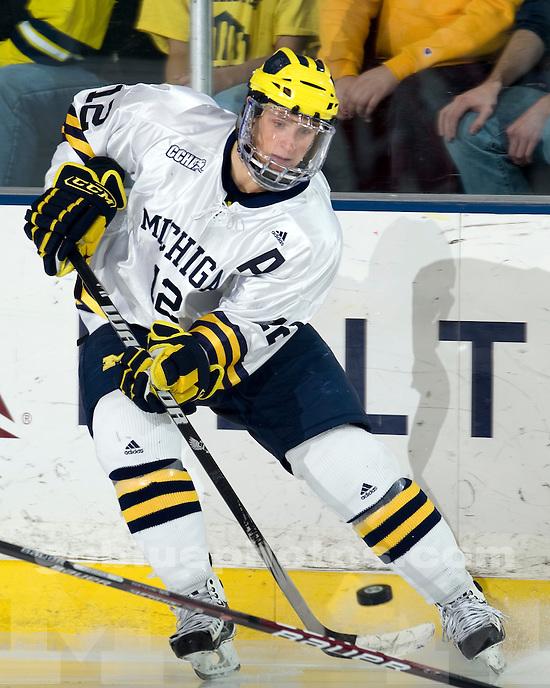 University of Michigan Ice Hockey v Wisconsin on 11/28/2009 in Ann Arbor, MI